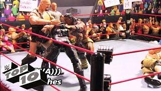 WWE Superstars attack Superstars - WWE Top 10