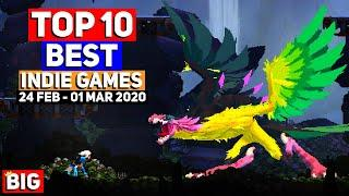 Top 10 BEST NEW Indie Game Releases: 24 Feb - 01 Mar 2020 (Upcoming Indie Games)