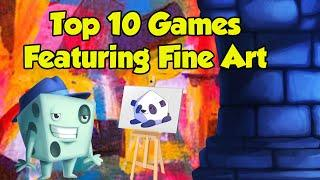 Top 10 Games Featuring Fine Art - with Tom Vasel