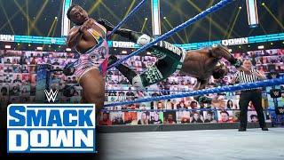 Big E vs. Apollo Crews – Intercontinental Title Match: SmackDown, April 30, 2021