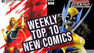 TOP 10 NEW KEY COMICS TO BUY FOR SEPTEMBER 2ND 2020 - NEW COMIC BOOKS REVIEWS THIS WEEK - MARVEL  DC