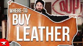 (Top 3) Places to Buy Leather - Where to Buy Leather? How to buy Leather?