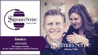 MISTAKES! Top 10 biggest mistakes with personal finances.