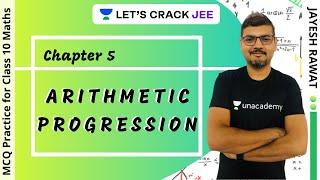 Chapter 5: Arithmetic Progression | MCQ Practice for Class 10 Maths Exam | Jayesh Rawat
