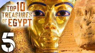 Top 10 Treasures Of Egypt | History Documentary | Channel 5