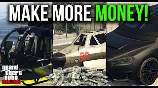 The BEST Vehicles to MAKE MONEY in GTA Online! Best Grinding/Business Vehicles for Broke Players