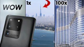 Samsung Galaxy S20 Ultra - ZOOM TEST: 100x Zoom Camera Review