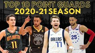 Top 10 Point Guards in the 2020-21 NBA Season