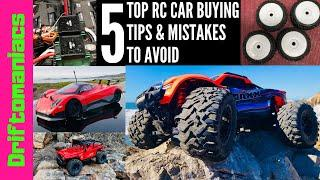 Top 5 RC Car Buying Tips & Mistakes To Avoid