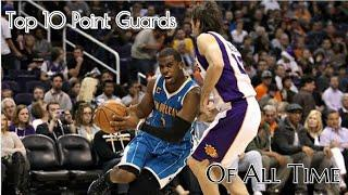 Ranking the top 10 Point Guards in NBA History!