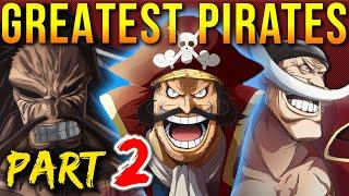 Top 10 Greatest One Piece Pirates Of All Time (pt. 2)