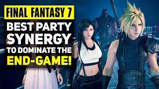 Final Fantasy 7 Remake - Best Party Setup For Hard Mode | FF7 Remake Combat Tips & Tricks!