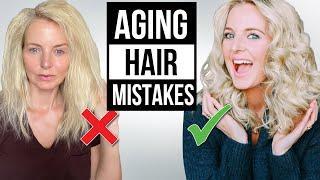 5 Hair Mistakes Making You Look 10 Years Older