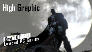 Top 10 LowSpec/Low End PC Games in 2020 | High Graphic |  Only 2gb Ram Only