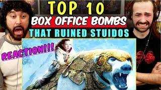 TOP 10 Box-Office BOMBS That RUINED Studios - REACTION!!!