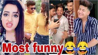 Mr. Faisu Jannat zubair Gima Ashi Manjul Riyaz Sagar Awez Most Funny Tiktok video Compilation 2 HD