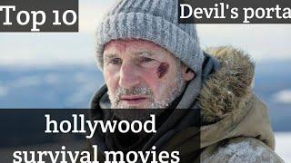 Top 10 Survival Movies In Hollywood Of All Time    Best Survival Movies In Hindi    Devil's Portal
