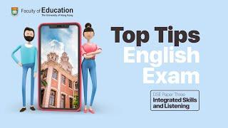 Top Tips for HKDSE English Exam: Paper 3 (Listening & Integrated Skills)