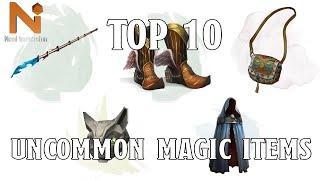 Top 10 D&D 5e Uncommon Magic Items | Nerd Immersion