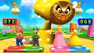 Mario Party The Top 100 MiniGames - Mario Vs Luigi Vs Rosalina Vs Peach (Master Difficulty)