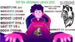 MOST ANTICIPATED GAMES 2020  PS4PCXBOXone