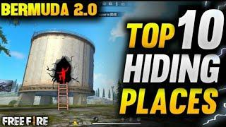 TOP 10 HIDING PLACES IN BERMUDA 2.0 FREE FIRE para SAMSUNG,A3,A5,A6,A7,J2,J5,J7,S5,S6