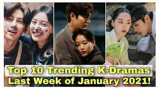 Top 10 Trending Korean Dramas for the last Week of January 2021! List of Korean Dramas |kdrama fans