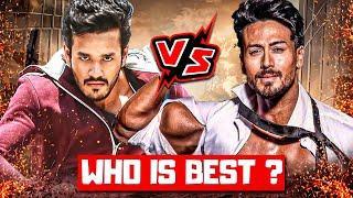 Tiger Shroff Vs Akhil Akkineni,Akhil Akkineni Vs Tiger Shroff,Tiger Shroff New Movies,Akhil NewMovie