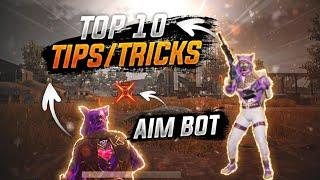 Top 10 Tips and Tricks in PUBG MOBILE for beginners(FROM NOOB TO PRO)