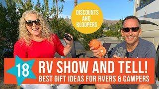 18 BEST RV GIFT IDEAS & GEAR FOR RVERS & CAMPERS | 2019 HOLIDAY GIFT GUIDE | **NOT SPONSORED**