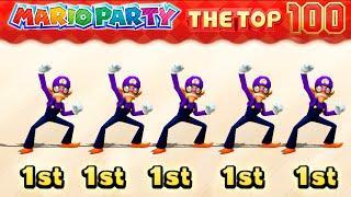 Mario Party The Top 100 Minigame Waluigi Vs Mario Vs Luigi Vs Peach(Master COM)