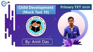 Mock Test 10 | CDP | Top 10 Questions (MCQ) - WB Primary TET 2020 | Master Of Jobs
