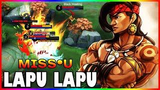 Early Game 3 vs 1 No Problem! | ᴍɪss•ᴜ | Top Global Lapu Lapu | Mobile Legends