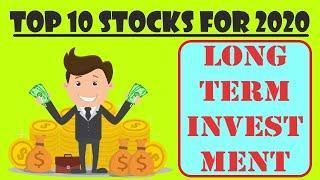 Top 10 Stocks For 2020 | Share Market Portfolio | Long Term Investment | High Potential Stocks
