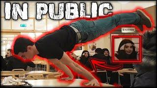 Street Workout In Public - *Best Reactions*