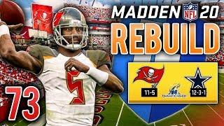 (NFC TITLE) Bucs Face Top Seed Cowboys - Madden 20 Franchise Rebuild | Ep.73
