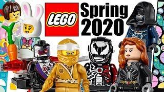 Top 10 Most Wanted LEGO Sets of Spring 2020!