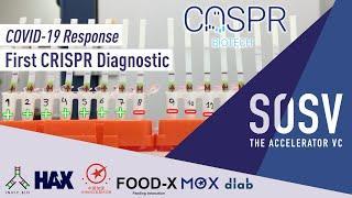 CASPR Biotech developing cheap, rapid, point of care Crispr Cas12 Test    COVID-19 Response   SOSV
