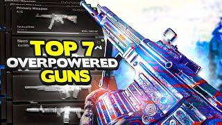 Warzone top 7 OVERPOWERED Guns in Season 6