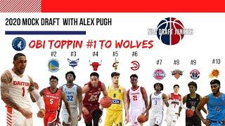 NBA Draft Junkies | Mock Draft Top 10 with Alex Pugh Part I