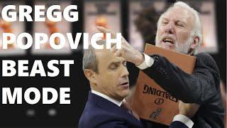 TOP 10 Gregg Popovich Angry Moments | Funny Fight with Tim Duncan at the end