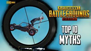 Top 10 Mythbusters in PUBG Mobile   Dancing Car Trick   PUBG Myths #1