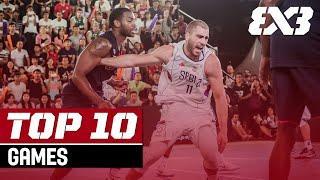 Top 10 Games in FIBA 3x3 History