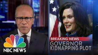 NBC Nightly News Broadcast (Full) - October 8th, 2020 | NBC Nightly News