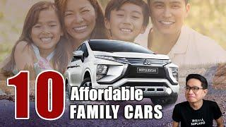 Top 10 Most Affordable Family cars in the Philippines | Philkotse Top List