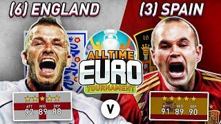 England All-Time XI vs Spain All-Time XI | FIFA 20 All-Time EURO Experiment!