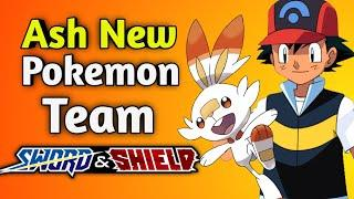 Ash new Pokemon team ||Top 10 sword and shield Pokemon of ash || Pokemon ash should caught