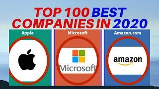 TOP 100 COMPANIES IN THE WORLD BASED ON MARKET VALUE IN  2020 - Best 100 Companies in 2020