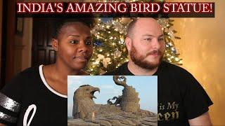 INDIA'S AMAZING BIRD STATUE! - Jatayu Earth's Center in Kerala | VesserBunch REACTION | #india