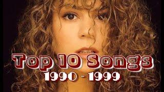 Top 10 Worldwide Hits Of Each Year (1990 - 1999)